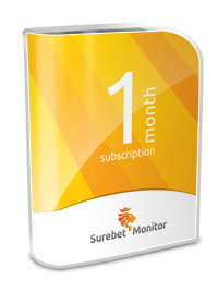 Surebet Monitor Subscription - 1 month