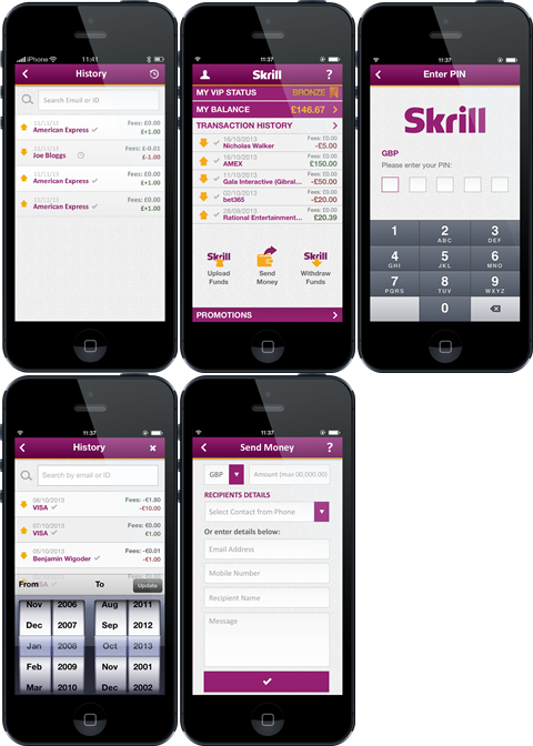skrill mobile wallet