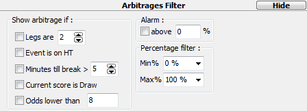 InPlay filters