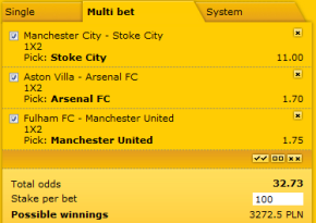 Accumulators and system bets at Pinnacle Sports