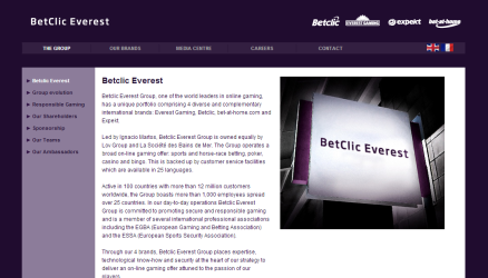 Betclic everest group expekt betting cs lounge betting url