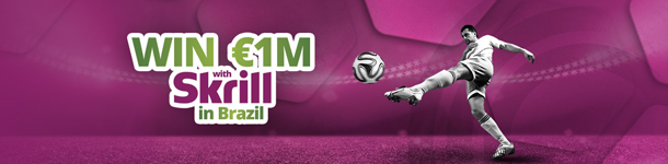 Skrill World Cup Brazil 2014 Promotion